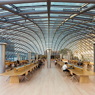 20 Joe & Rika Mansueto Library at the University of Chicago — Chicago, Ill. b