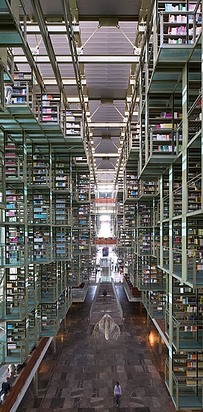 21 Jose Vasconcelos Library — Mexico City, Mexico