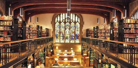 22 Frederick Thompson Memorial Library at Vassar College — Poughkeepsie, N.Y.