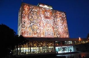 23 Central Library at National Autonomous University of Mexico — Mexico City, Mexico