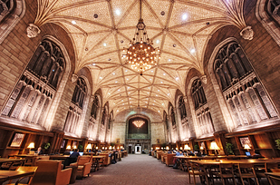 25 Harper Memorial Library at University of Chicago — Chicago, Ill. b
