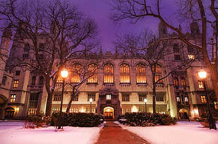 25 Harper Memorial Library at University of Chicago — Chicago, Ill.