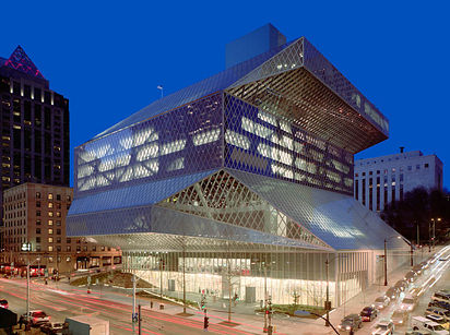 26 Seattle Central Library — Seattle, Wash.