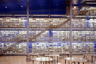 35 Library at Delft University of Technology — Delft, Netherlands b