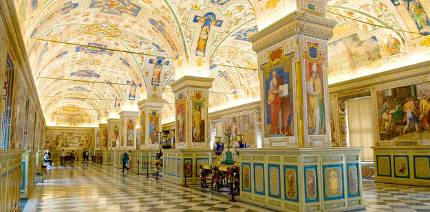 42 Vatican Library — Vatican City