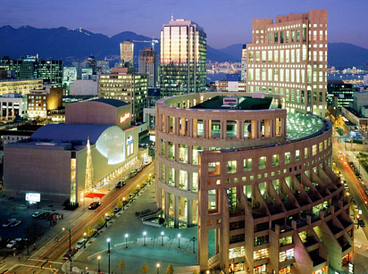 44 Central Public Library — Vancouver, Canada
