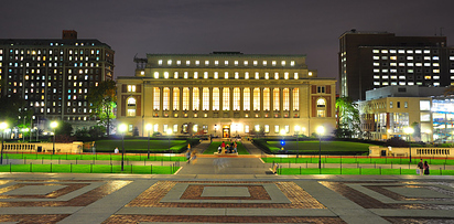47 Butler Library at Columbia University — New York, N.Y.
