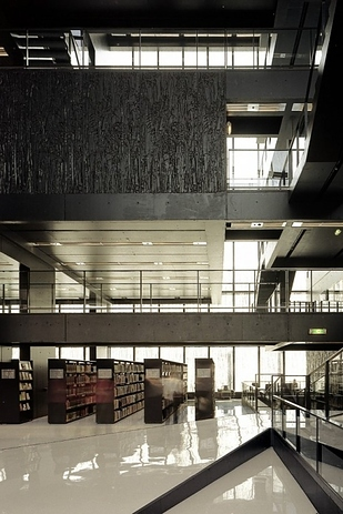 48 Library at Utrecht University — Utrecht, Netherlands b
