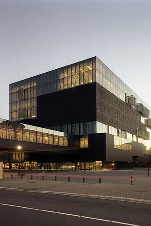 48 Library at Utrecht University — Utrecht, Netherlands