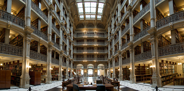 49 George Peabody Library at Johns Hopkins University — Baltimore, Md.