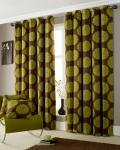 curtains-green