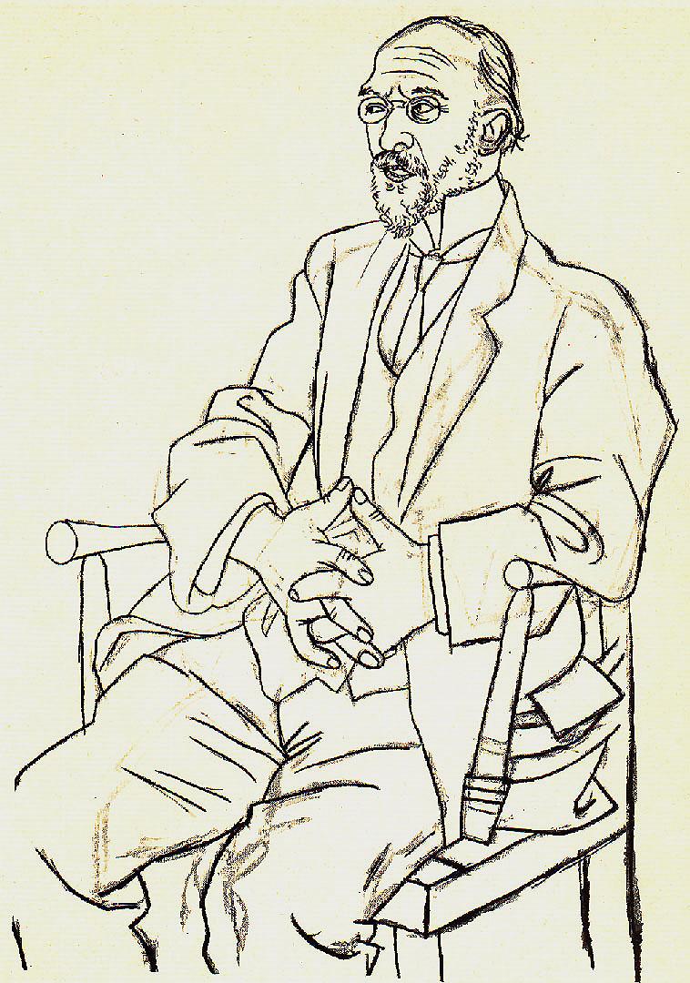 Ο Ερίκ Σατί από τον Πικάσο, 1920