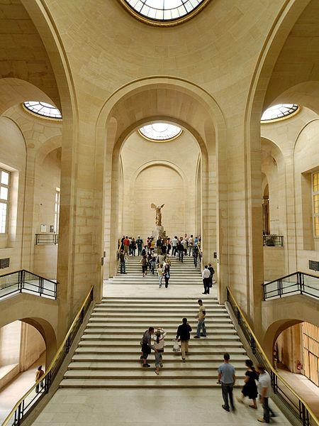 L'escalier Daru et la Victoire de Samothrace