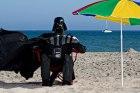 Darth Vader on a Dark Holiday