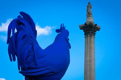 HahnCock-Trafalgar-Square-Statue-Fourth-Plinth