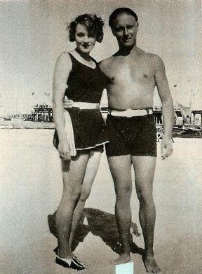 Marlene Dietrich & Charlie Chaplin