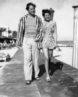 Orson Welles and Rita Hayworth