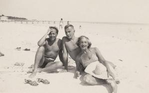 Tennessee Williams, Gore Vidal, Nina Gore