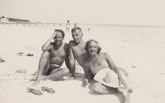 Tennessee Williams, Gore Vidal, Nina Gore