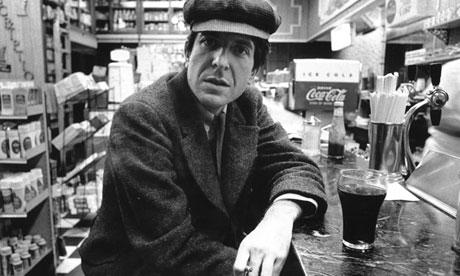 Leonard Cohen in 1960.