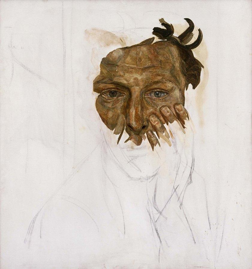 Self Portrait, c.1956 (oil on canvas)
