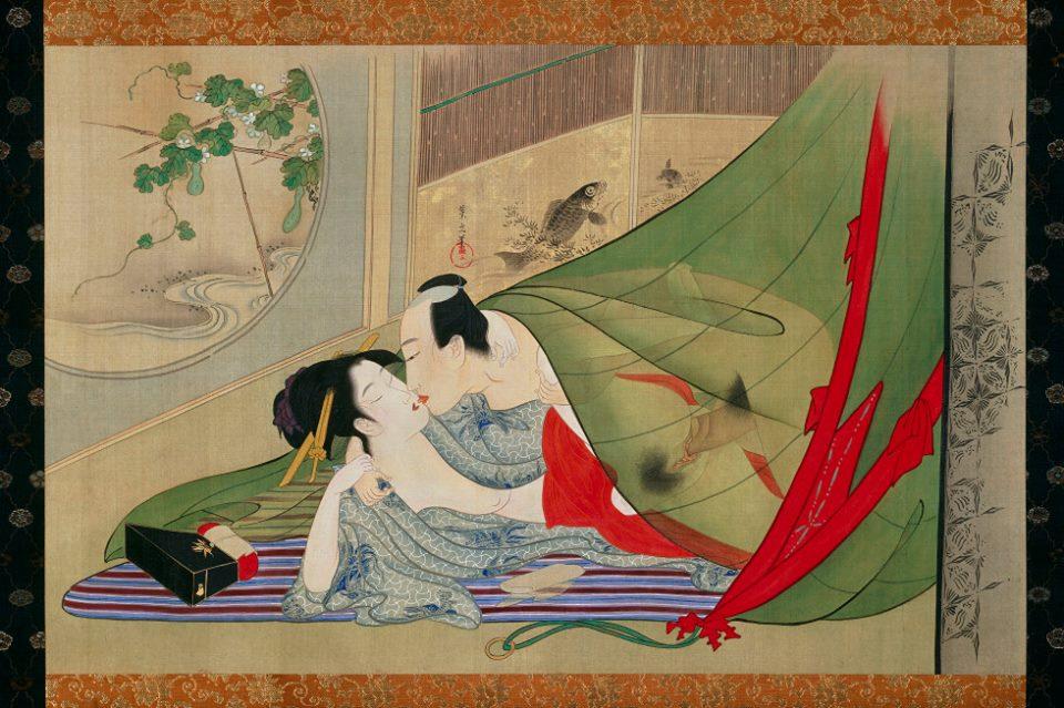 Σεξ και ηδονή στην ιαπωνική τέχνη (2/6)