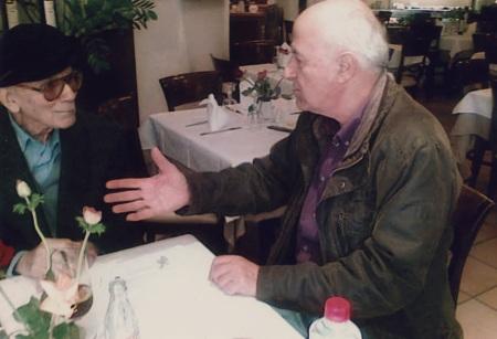 Αλεξίου και Γιώργος Ζεβελάκης (φωτο: Βασίλης Ζεβελάκης)