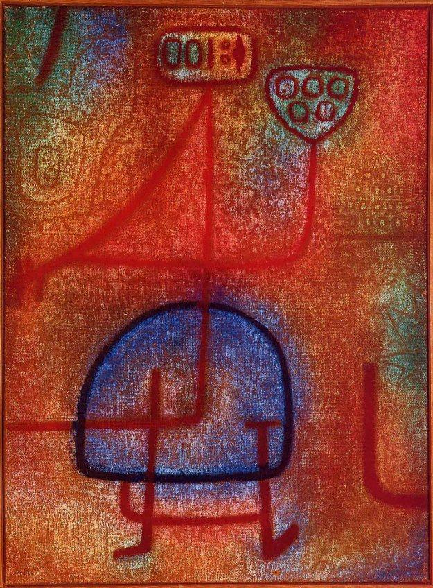 Klee-Paul-La-belle-jardiniere-Sun