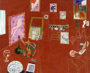 Matisse, red studio, 1911