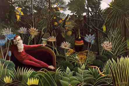 The Dream Inspired by: Henri Rousseau The Dream - 1910 MOMA (Metropolitan Museum of Art)