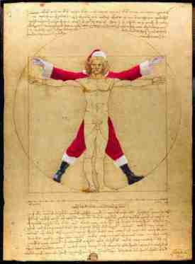 The Vitruvian Man Inspired by: Leonardo da Vinci The Vitruvian Man - 1490 Accademia Venice