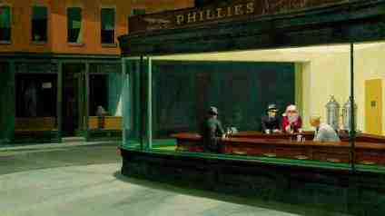 Nighthawks Inspired by: Edward Hopper Nighthawks - 1942 Art Institute of Chicago