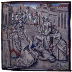 Ο θάνατος του Ανδρόνικου Κομνηνού