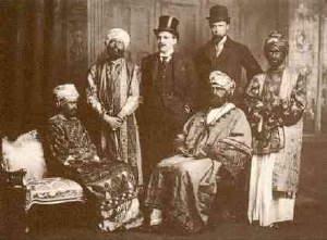 Από αριστερά: Virginia Stephen (Woolf), Duncan Grant, Horace Cole, Anthony Buxton, Adrian Stephen, Guy Ridley