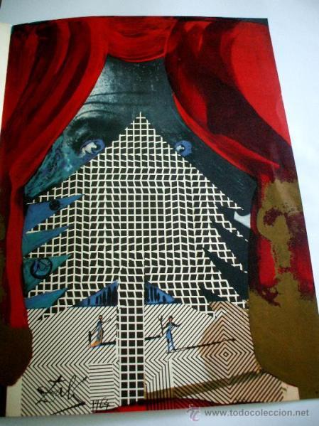 Felicitación de Navidad, Dali, 1964