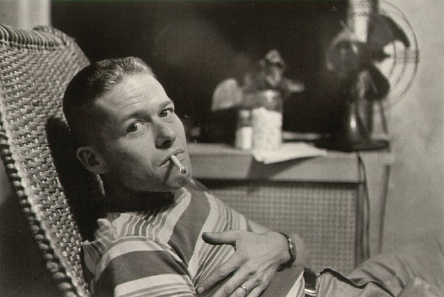 O Garry Winograd φωτογραφημένος από τον Lee friedlander