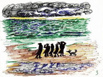 Οι Vitelloni: Στη θάλασσα
