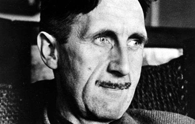 """Literature. Personalities. pic: circa 1940's. British author George Orwell, (1903-1950) among his many books were """"Ninteen Eighty Four"""" and Animal Farm""""."""
