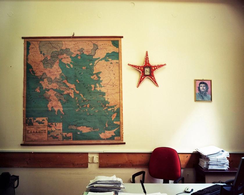 Γραφείο στο Υπουργείο Ανάπτυξης