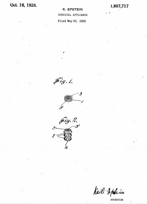 Keili Epstein 1928 patent