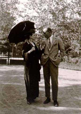 Πηνελόπη και Αντώνης στην Κηφισιά το 1922