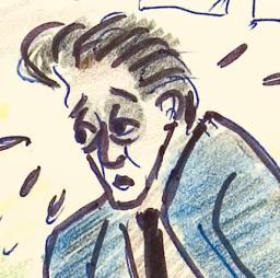 Αυτοπροσωπογραφία, 20/1/1961, τη μέρα των γενεθλίων του