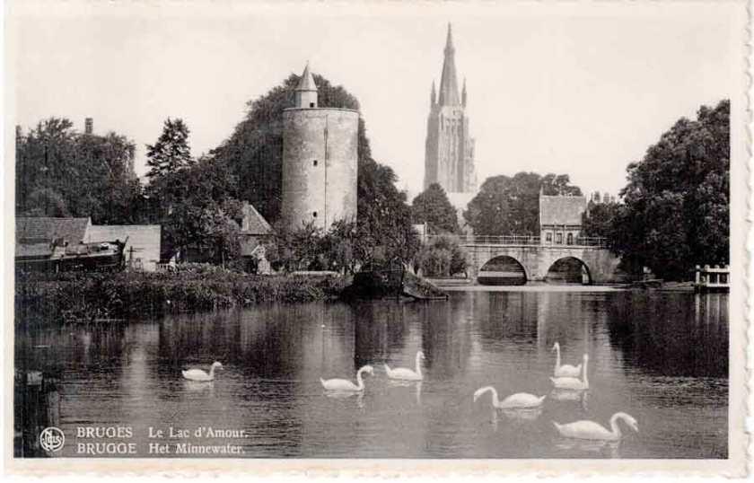 Bruges le lac d' amour