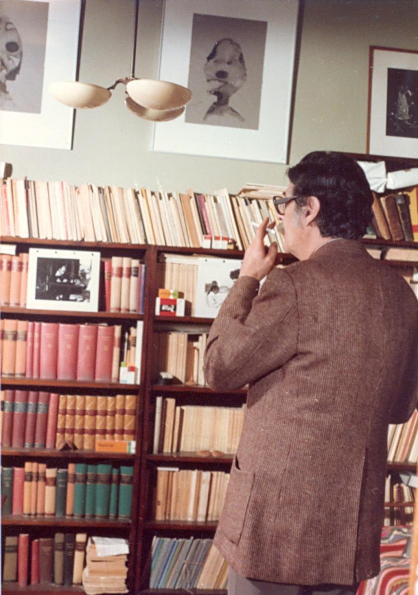 17/11/1983, στο γραφείο του Τάκη Σινόπουλου