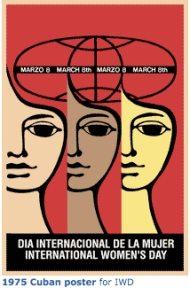Cuban IWD Poster 1975