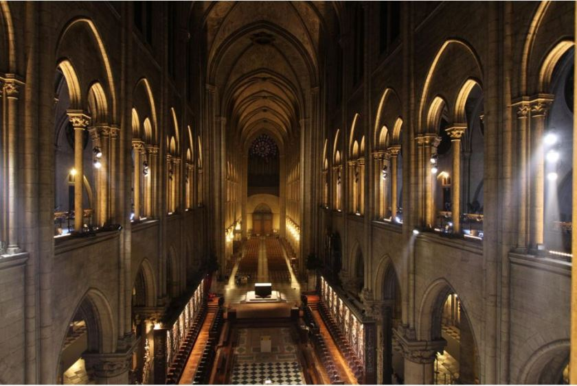 notre dame paris cathedral photos LED 111111