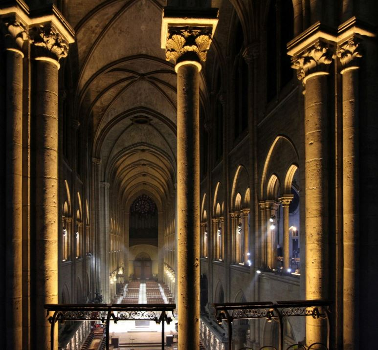 notre dame paris cathedral photos LED 12