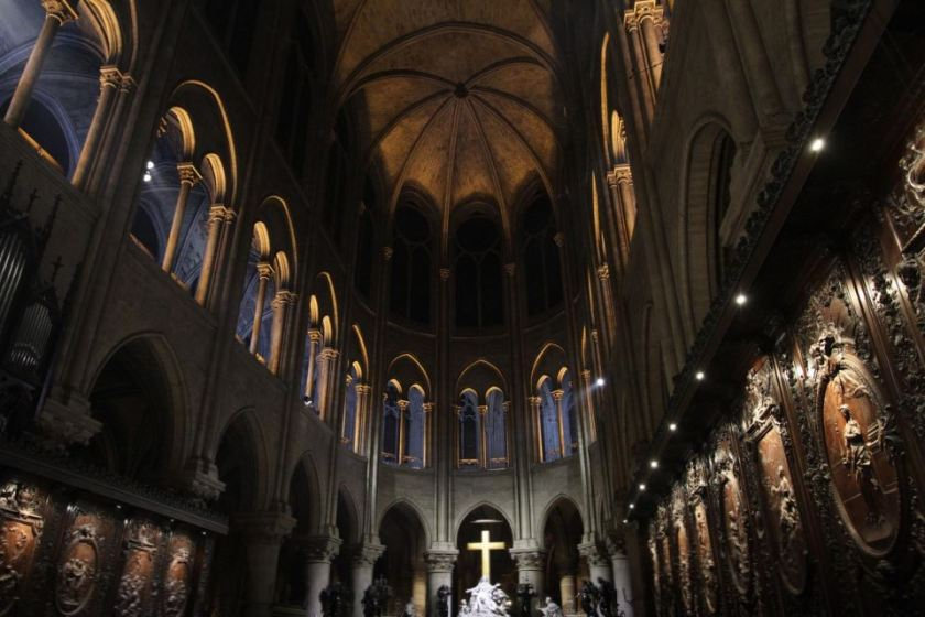 notre dame paris cathedral photos LED 14