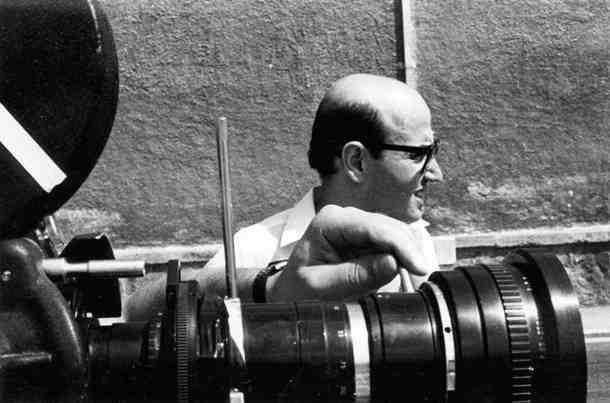 Από τα γυρίσματα της ταινίας «Η εκπομπή», 1968