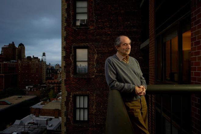 Writer Philip Roth